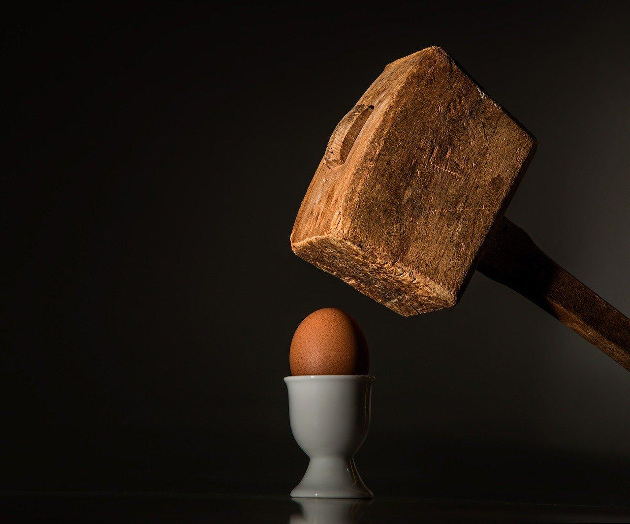 Eier aufschlagen leicht gemacht