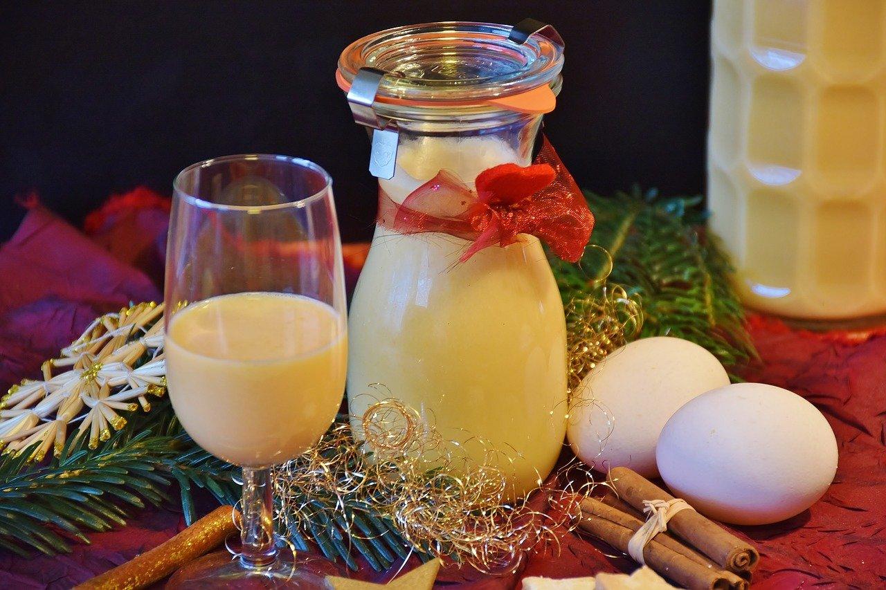Eierlikör zum Nachtisch - süß und lecker