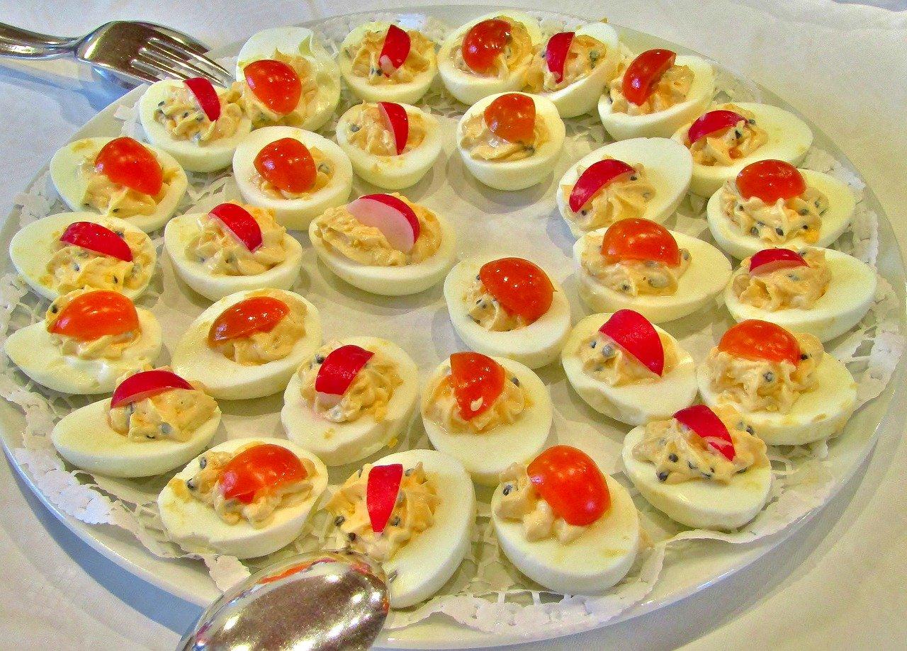 Gefüllte Eier - Der Renner auf jeder Party.